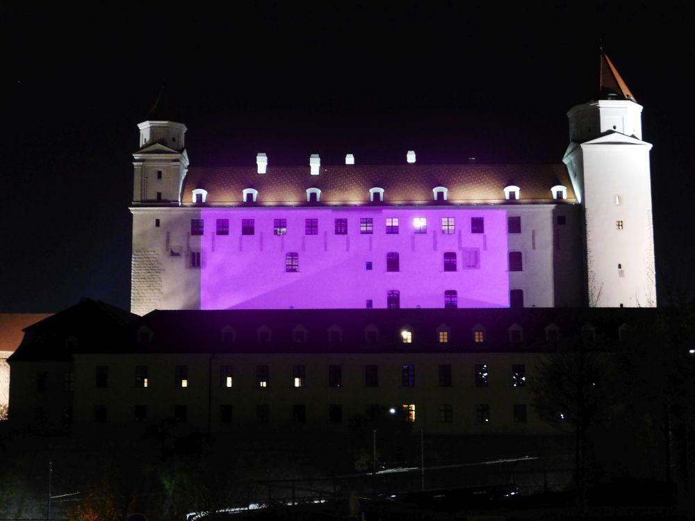 Slovenské i svetové dominanty budú fialové